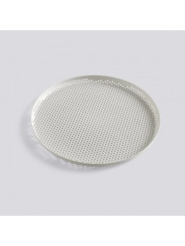 Hay - Perforated Tray - Lys grå - Stor