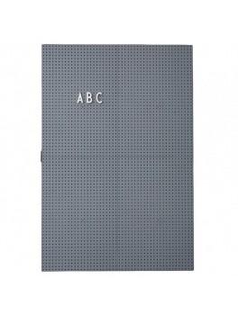 Design Letters - Message board - dark grey
