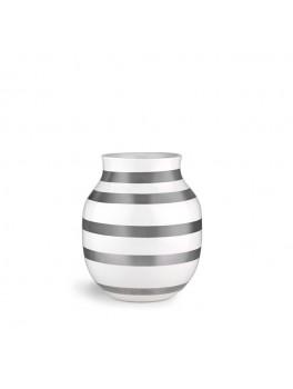 Kähler- Omaggio vase Mellem (Sølv)