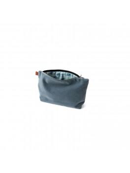 Semibasic - Lush pocket - Denim blue - 24x14 cm.