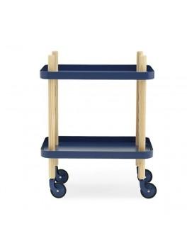 Normann - Block Table - dark blue