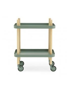 Normann - Block Table - dusty green